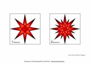 kleine rote sterne zu weihnachten basteln zur aktivierung. Black Bedroom Furniture Sets. Home Design Ideas