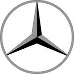 """Das Logo der Automarke """"Mercedes"""" zur Beschäftigung für Senioren, auch mit Demenz"""