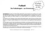 Senioren mit Alzheimer Demenz Beschäftigung mit der Erklärung der wichtigsten Regeln zur Fußball-EM in Frankreich