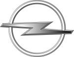 """Das Logo der Automarke """"Opel"""" zur Beschäftigung für Senioren, auch mit Demenz"""