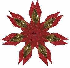Sterne Basteln mit demenzkranken Senioren zu Weihnachten