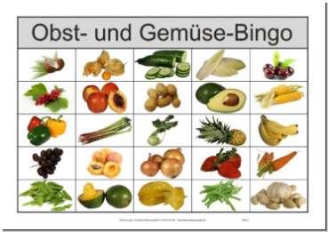 Bingo Spielanleitung Grundschule