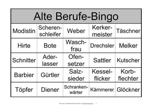 Spielregeln Bingo Fur Senioren