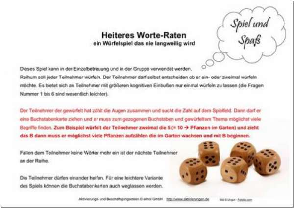 Heiteres Worteraten